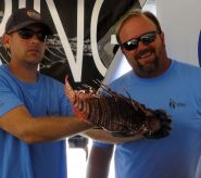 Gigantic lionfish takes it on the fin in Sarasota spearfishing event