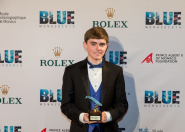 St. Pete student's eco-video shares Monaco's Blue carpet with 'Extinction'